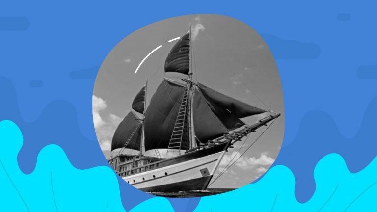 Sejarah Kapal Pinisi dimulai dari abad 14
