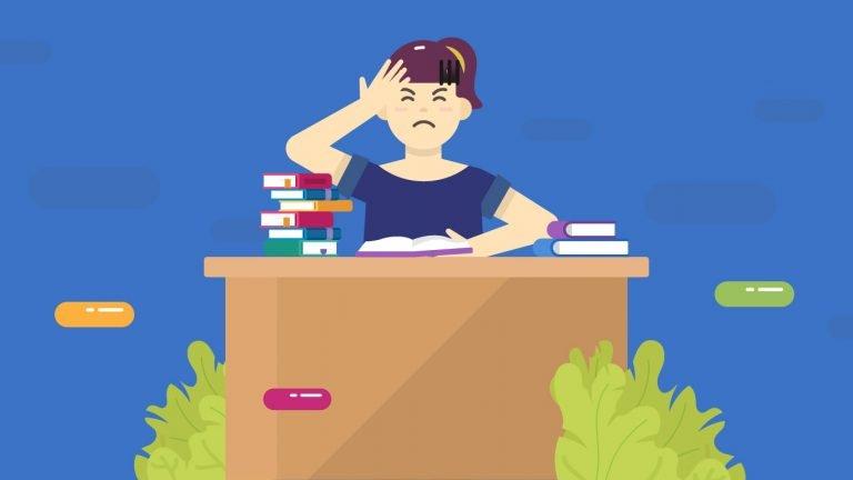 Gangguan kecemasan saat menghadapi ujian dirasakan oleh banyak pelajar