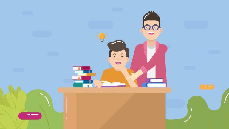 Proses belajar bisa semakin maksimal kalau ditemani oleh mentor.
