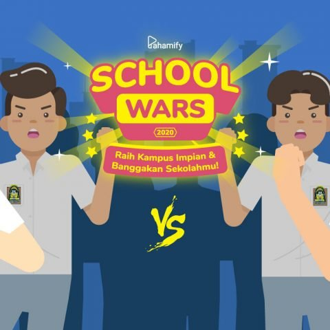 Apresiasi Guru dan Sekolahmu Lewat School Wars 2020