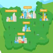 Geografi - Konsep Wilayah dan Tata Ruang