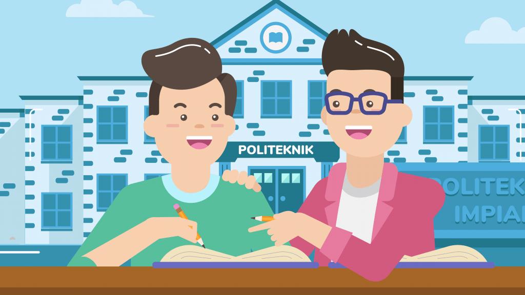 Nggak dapat PTN favorit? Tenang masih banyak politeknik terbaik di Indonesia dengan jurusan yang keren.