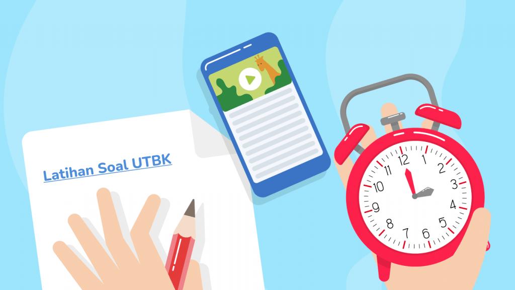 Saat mengerjakan soal UTBK 2021, kamu harus memiliki strategi manajemen waktu yang efektif dan efisien.