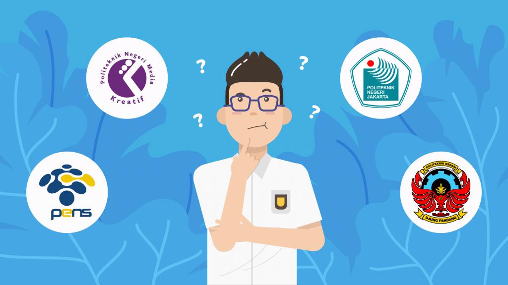 Sudah membuat daftar politeknik negeri yang bisa kamu pilih di SNMPTN dan SBMPTN 2021?
