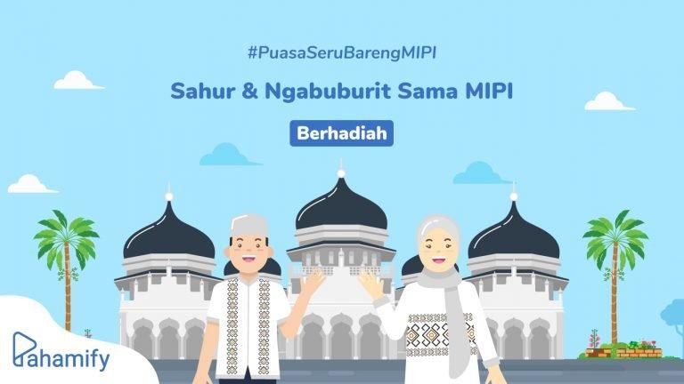 Ikuti program #PuasaSeruBarengMIPI. Dapatkan kegiatan bulan Ramadhan yang produktif dan jaga semangat belajar