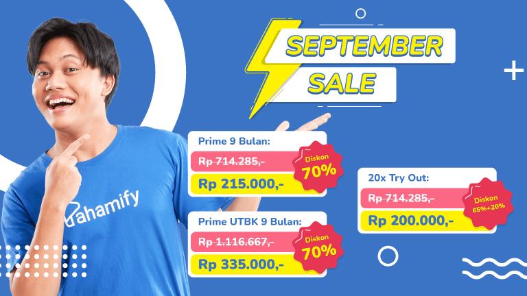 September Sale Pahamify